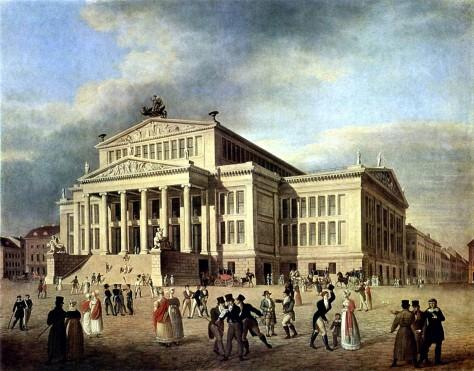 Schauspielhaus_Berlin_um_1825